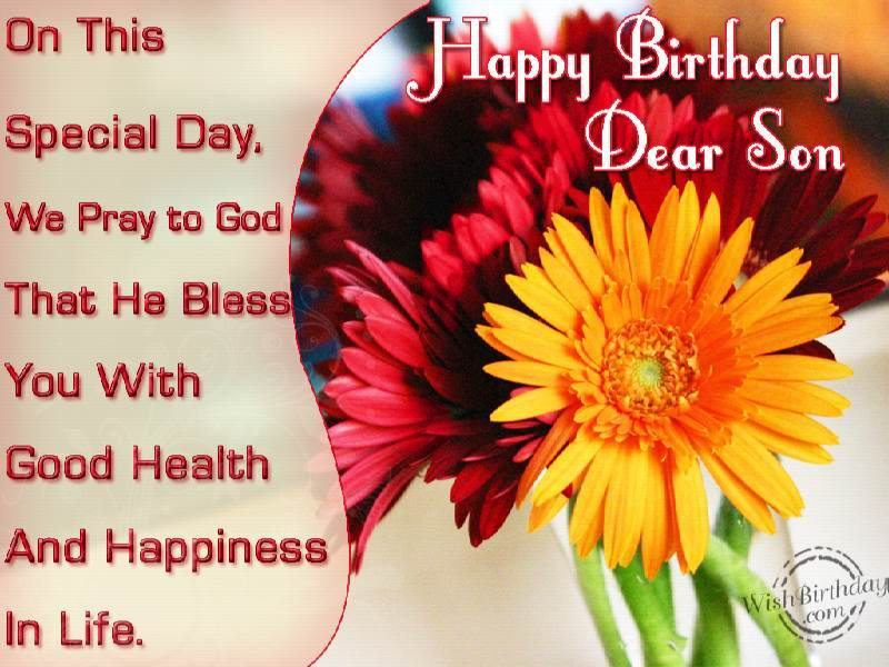birthday greeting images for son ; 498