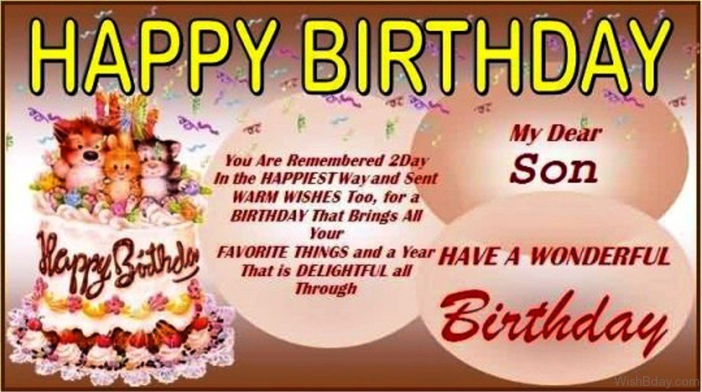 birthday greeting images for son ; Birthday-Greetings-For-Son-Plus-Birthday-Cards-For-Son-In-conjunction-With-Birthday-Wishes-For-Son-Turning-18