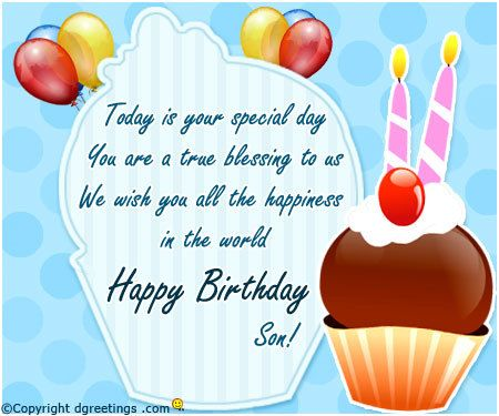 birthday greeting images for son ; greeting-card-for-son-birthday-41-best-celebrations-images-on-pinterest-birthday-cards
