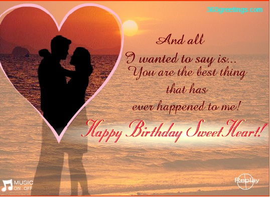 birthday greeting message for girlfriend ; birthday-picture-with-message