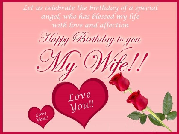 birthday greeting message for wife ; Screenshot_1-1