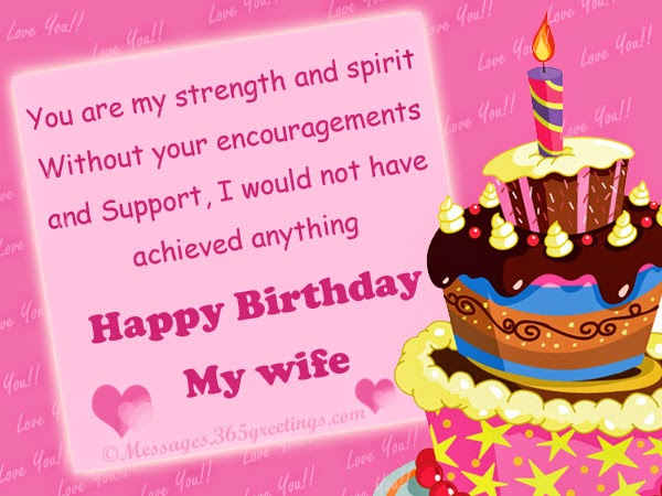 birthday greeting message for wife ; sweet-birthday-wishes-for-wife
