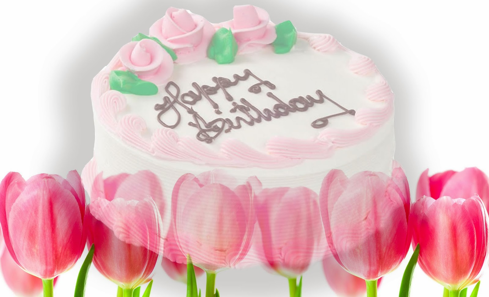 birthday greeting pictures free download ; flower-happy-birthday-cake-wallpaper