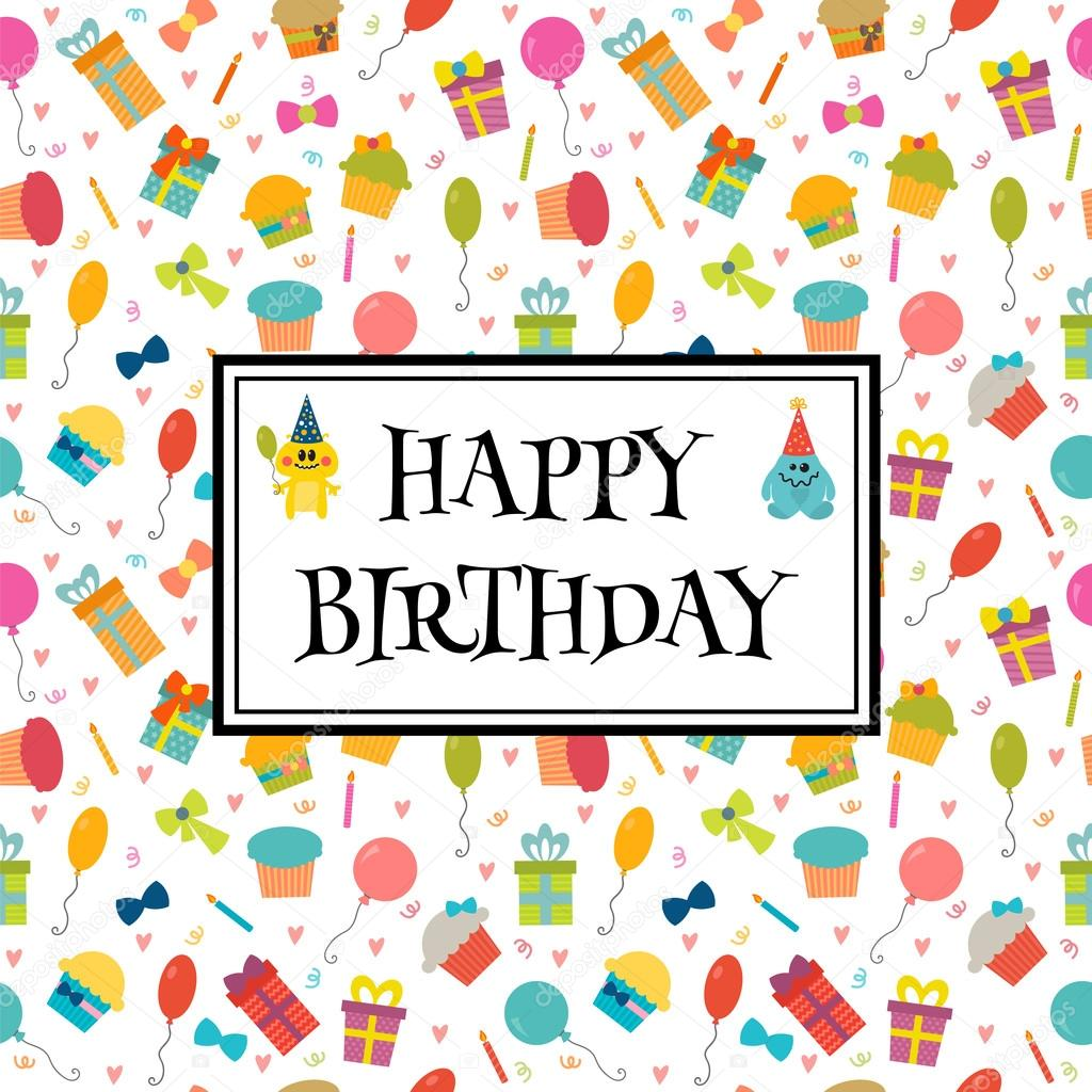 birthday greeting pictures funny ; depositphotos_102254662-stock-illustration-happy-birthday-greeting-card-with
