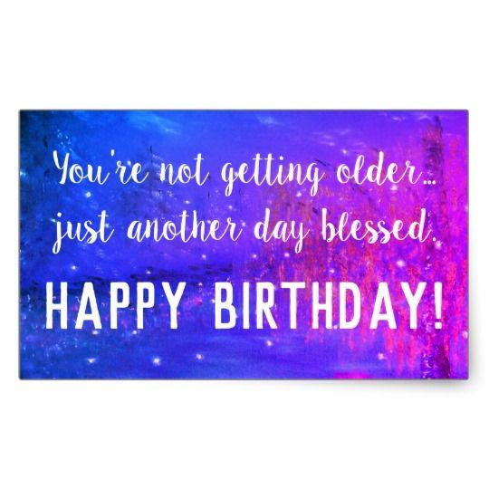 birthday greeting stickers ; il_570xN