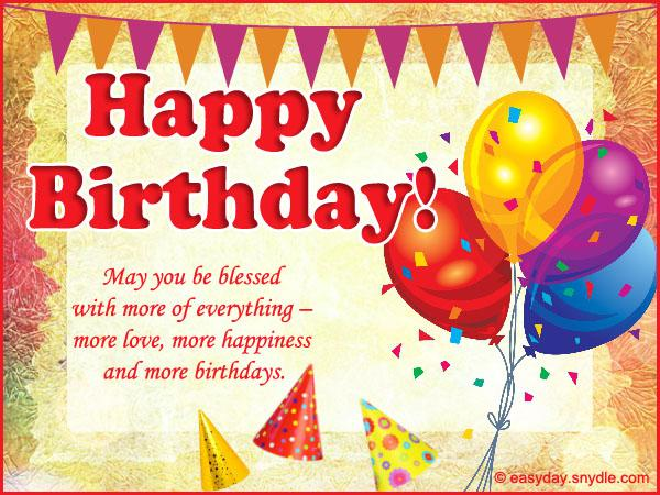 birthday greetings and messages ; happy-birthday-wishes