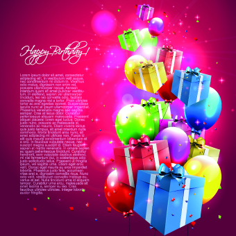 birthday greetings background image ; colorful_balloons_happy_birthday_greeting_cards_background_536384