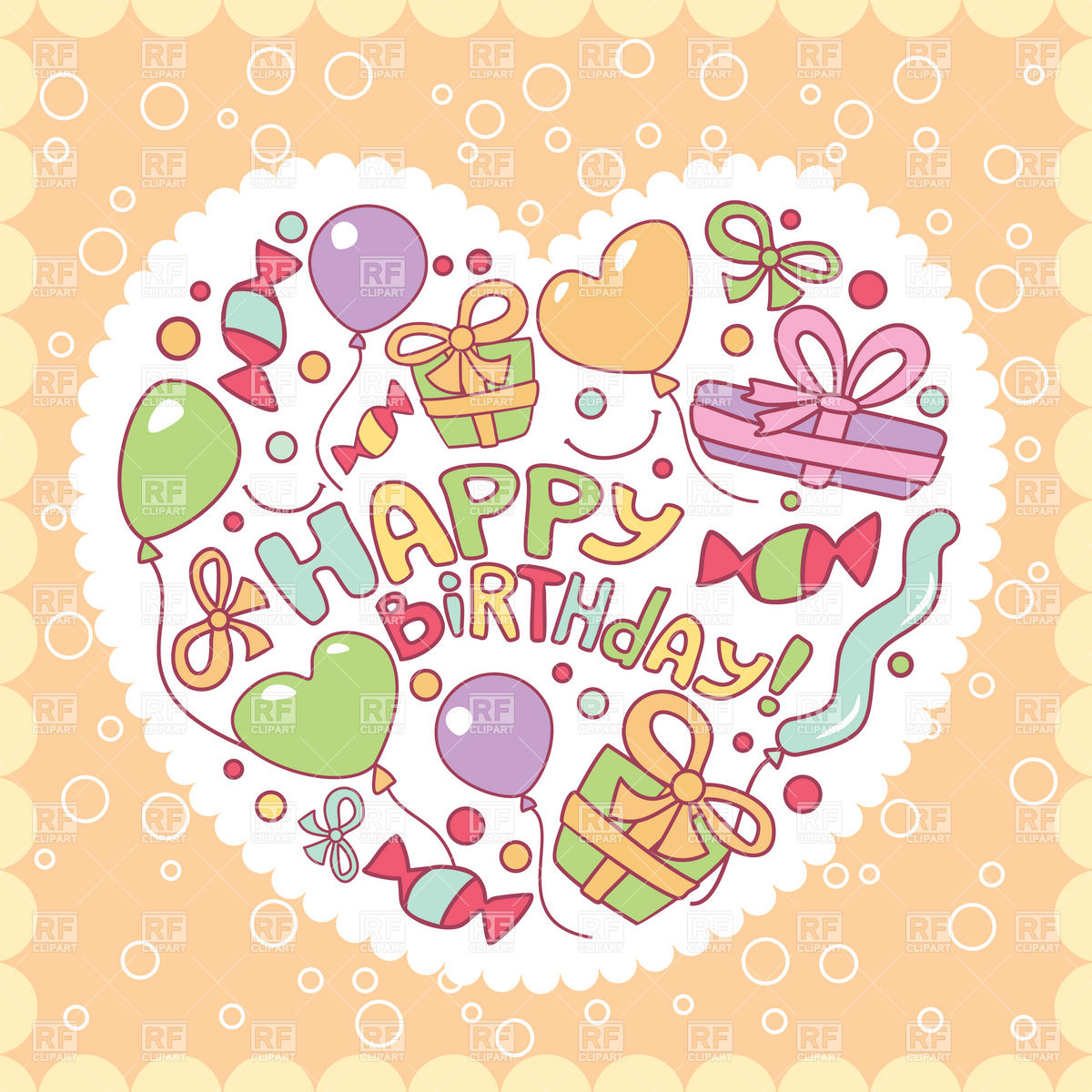 birthday greetings card images free download ; happy-birthday-greeting-card-with-gifts-and-balloons-Download-Royalty-free-Vector-File-EPS-40295