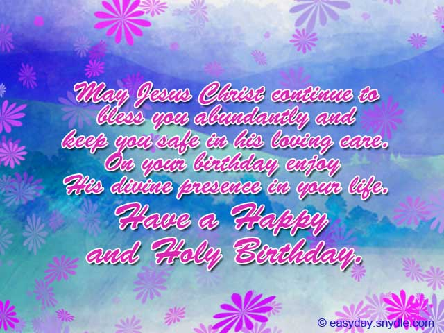 birthday greetings christian message ; christian-birthday-messages-greetings