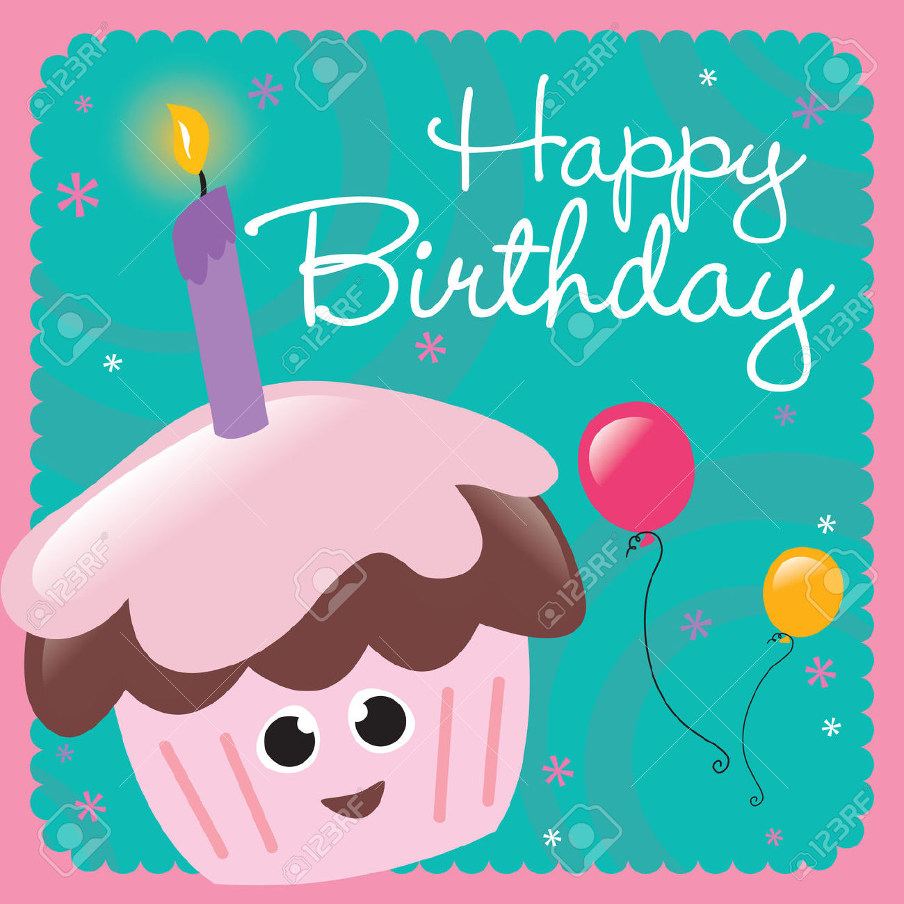birthday greetings clipart ; card-happy-birthday-clipart-1