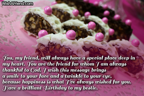 birthday greetings message for a best friend ; 667-best-friend-birthday-wishes