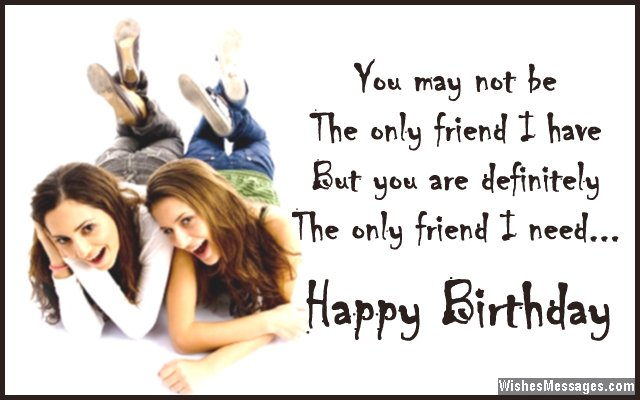 birthday greetings message for a best friend ; Sweet-birthday-message-for-best-friend