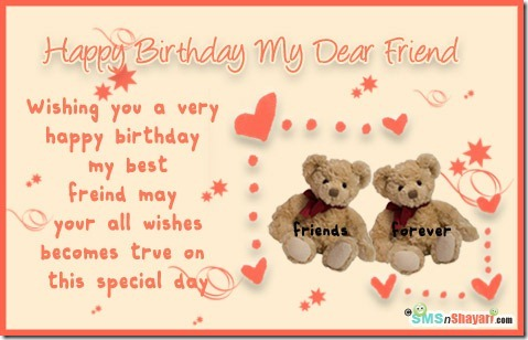 birthday greetings message for a best friend ; touching-birthday-wishes-for-best-friend