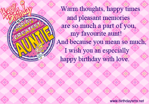 birthday greetings message for auntie ; 88a9cd28c05909708fee930d0fd66dbc