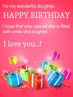 birthday greetings message for my daughter ; 0e7aed7822081cae2dcd227d41ffb572--birthday-wishes-for-daughter-happy-birthday-wishes-cards