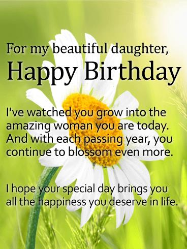 birthday greetings message for my daughter ; 1e0acc4b92685789bf2cc3746df52473