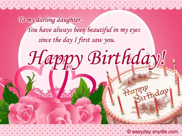 birthday greetings message for my daughter ; 61f0ea4fa342ca9d475cf12918b86b88