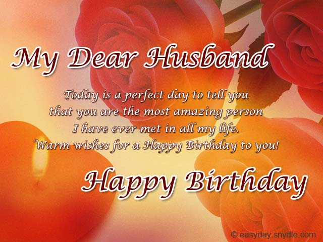 birthday greetings message for my husband ; husband-birthday-wishes