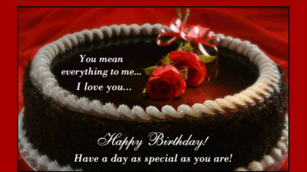 birthday greetings message for my husband ; maxresdefault