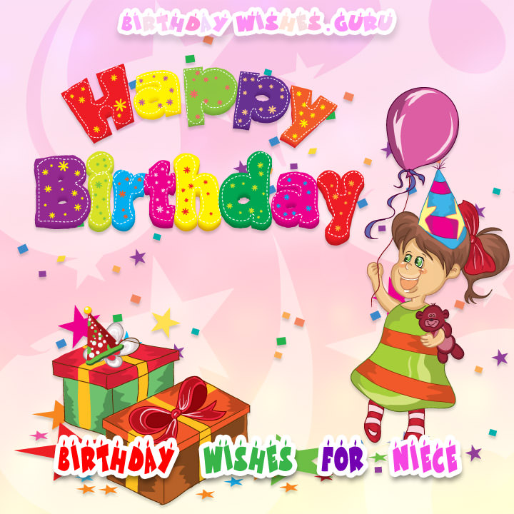 birthday greetings message to a niece ; Birthday-Wishes-Niece-Image