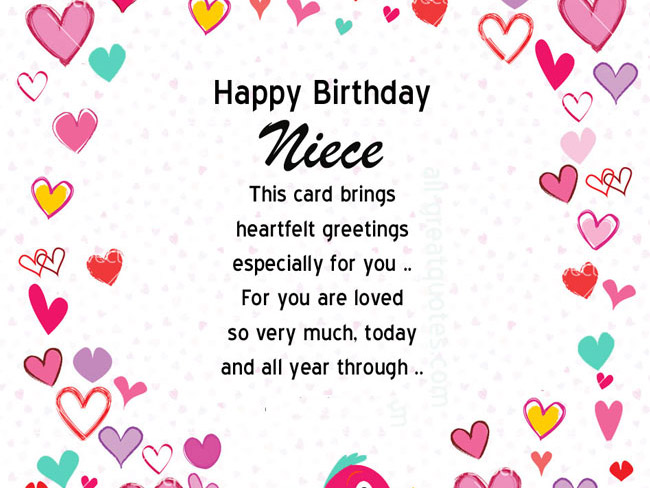 birthday greetings message to a niece ; niece-18th-Birthday-Wishes-and-Messages