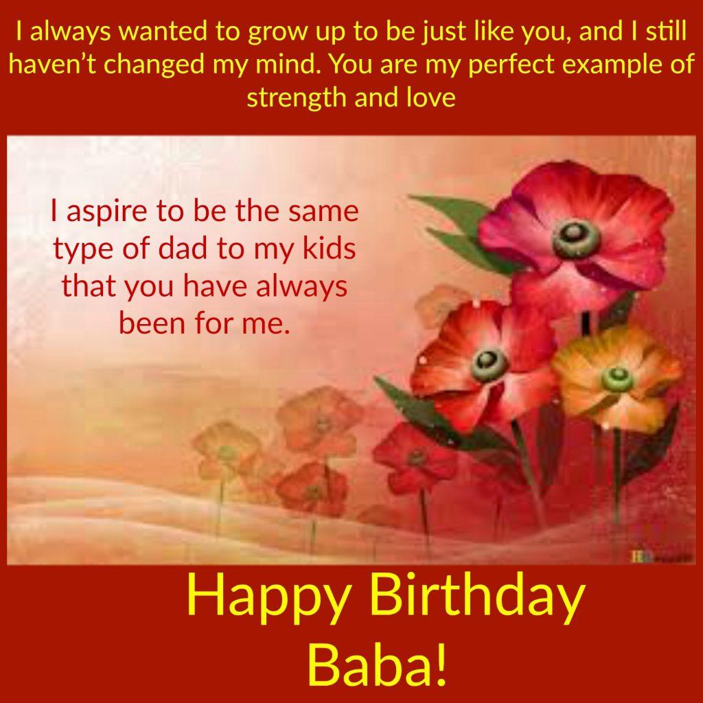 birthday greetings messages ; baba-1024x1024