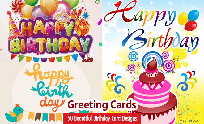 birthday greetings poster ; 50-beautiful-happy-birthday-greetings-card-design-examples-design-a-birthday-card