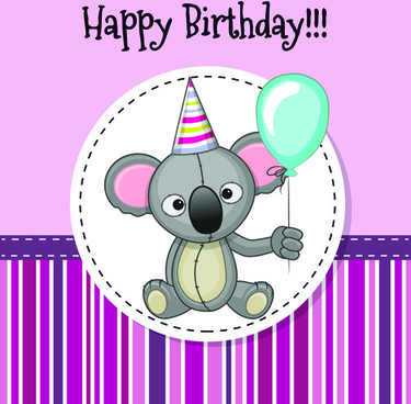birthday greetings poster ; happy_birthday_baby_greeting_cards_vector_581677