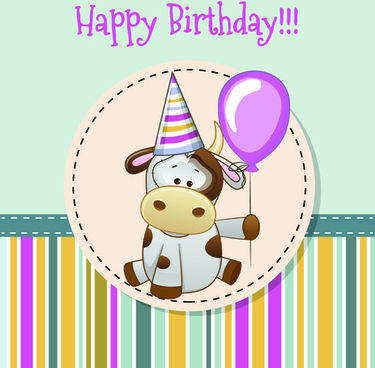 birthday greetings poster ; happy_birthday_baby_greeting_cards_vector_581679