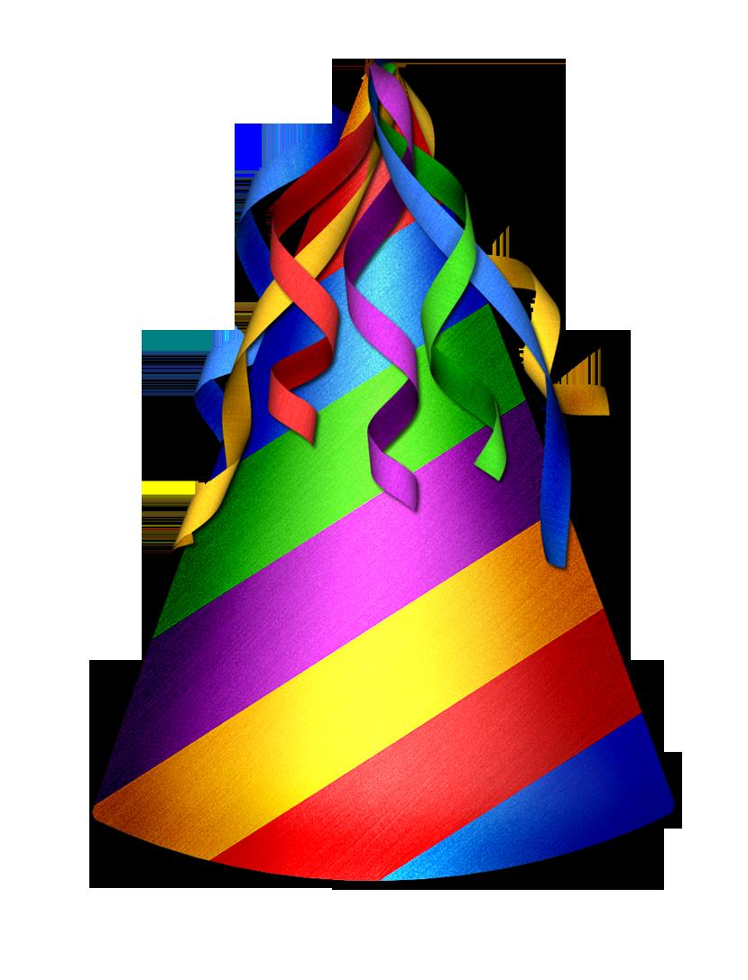 birthday hat clipart ; party-hat-clipart-transparent-background