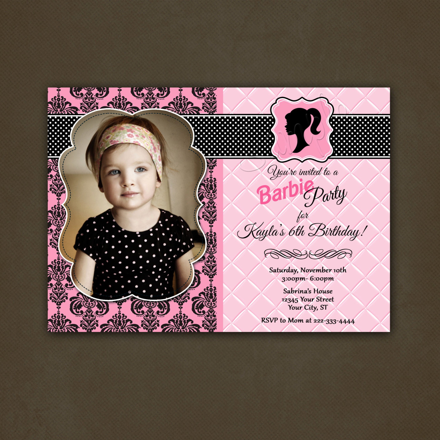 birthday invitation barbie theme ; Barbie-Birthday-Invitations-and-get-ideas-how-to-make-outstanding-birthday-Invitation-appearance-14