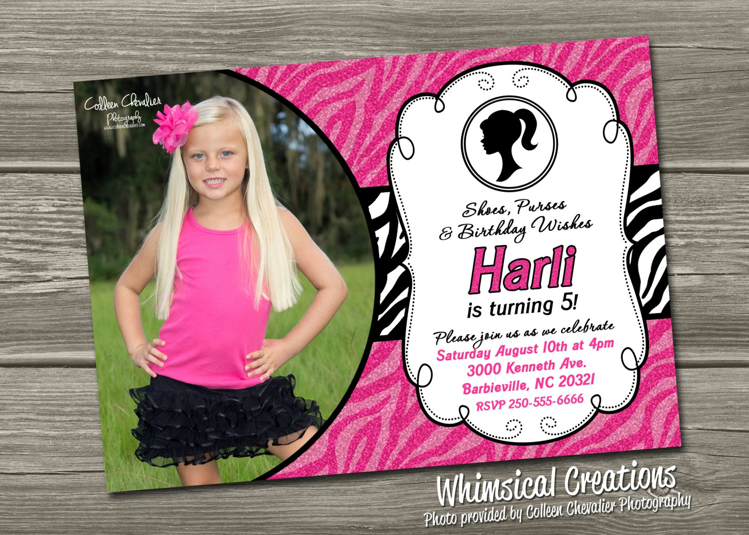 birthday invitation barbie theme ; barbie_birthday_invitations_5
