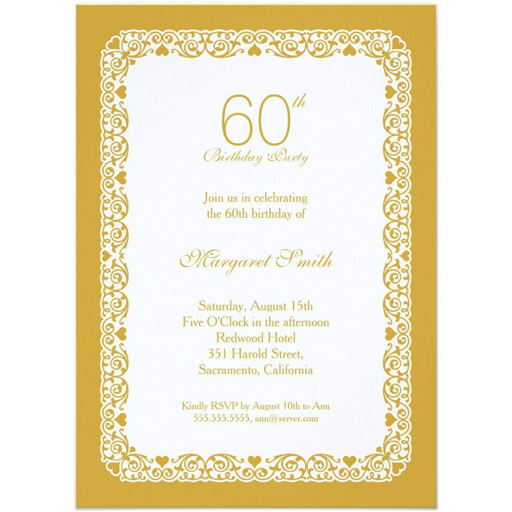birthday invitation border templates ; Personalized-60th-Birthday-Party-Invitations-For-Party-1