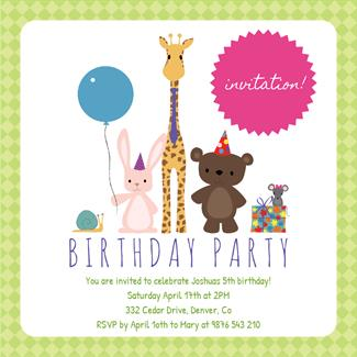 birthday invitation card borders ; pHarlequin-Border