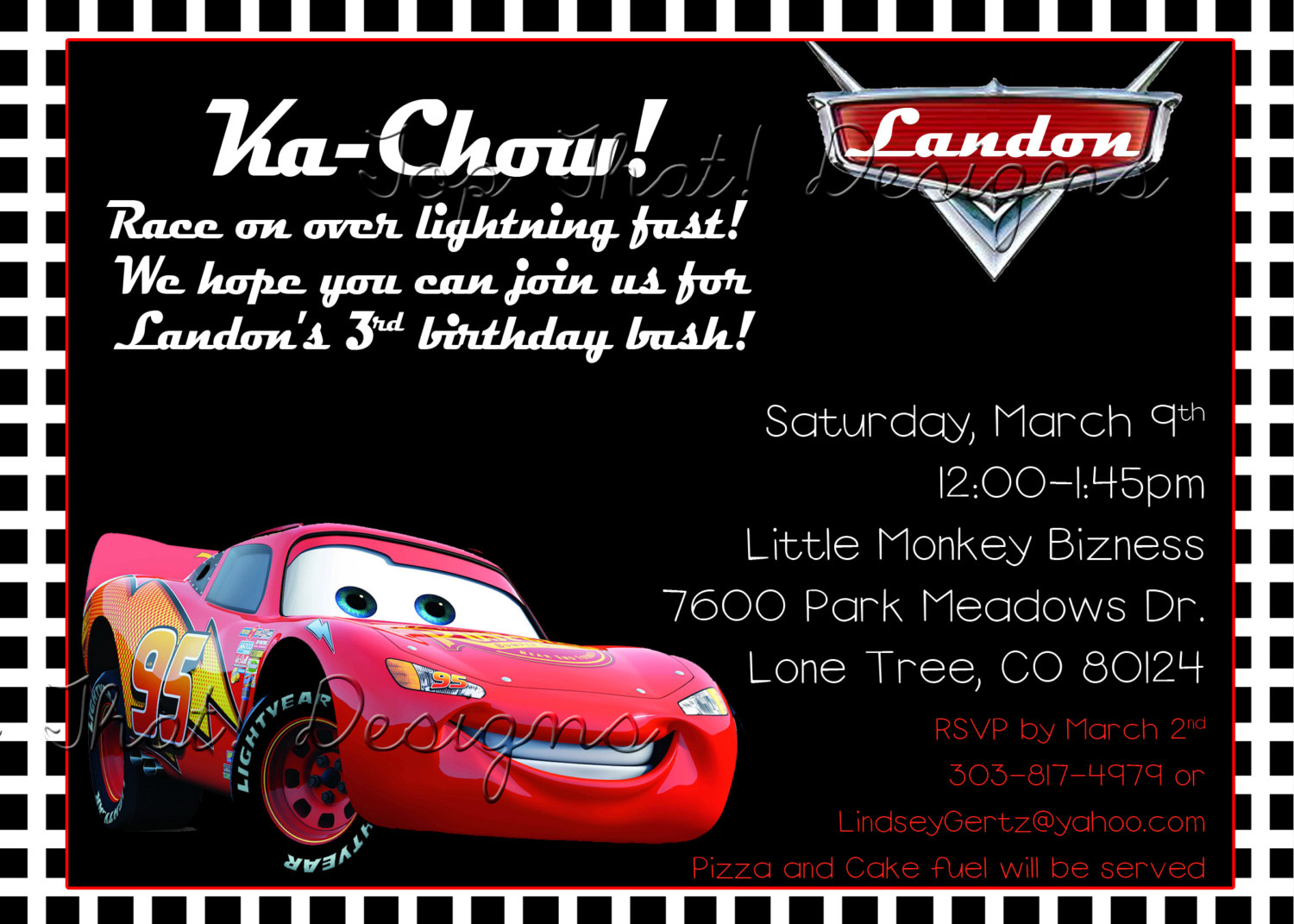 birthday invitation card car theme ; 0c7af92ecd80b4697beb9deb391d81ad