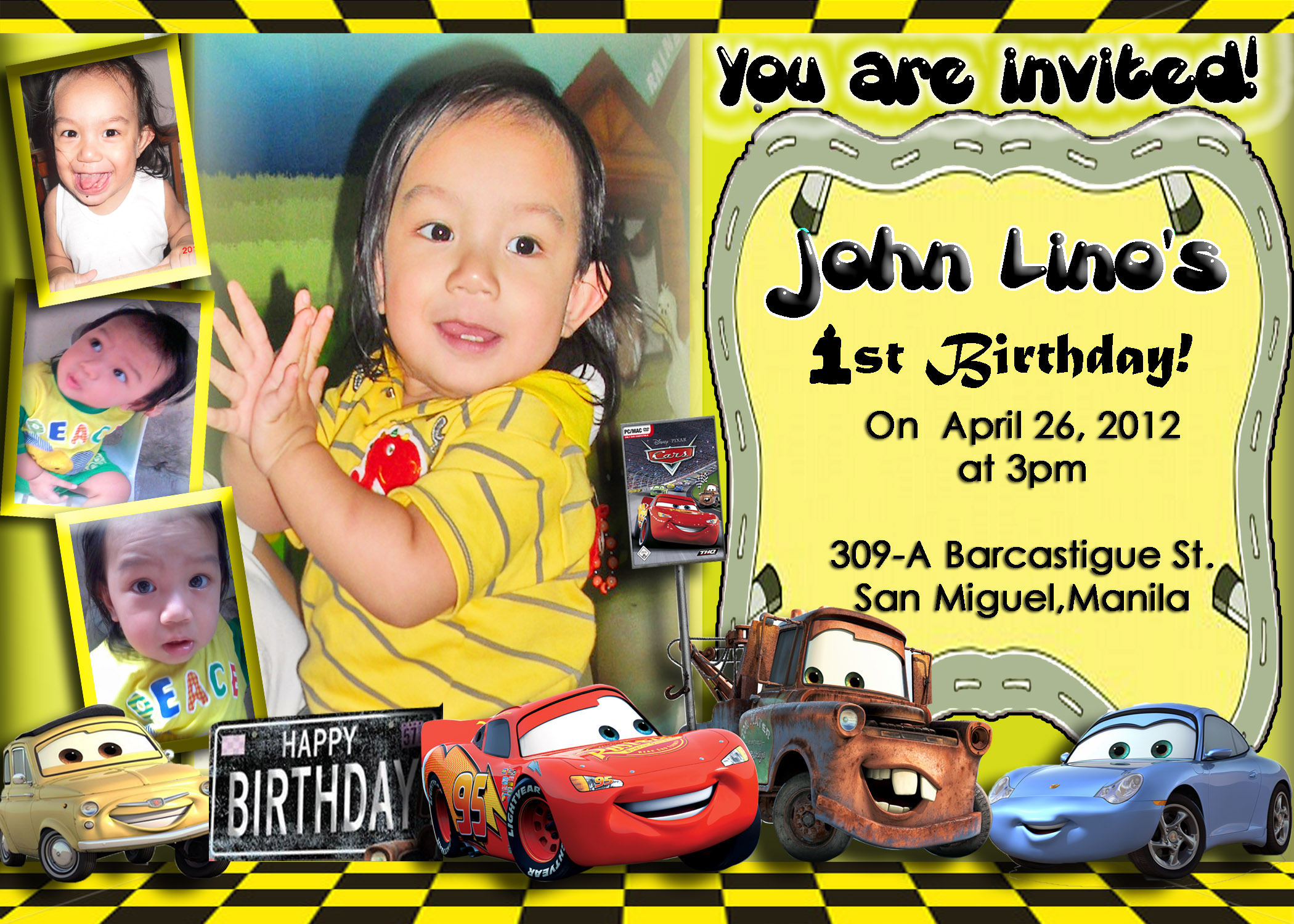 birthday invitation card car theme ; Cars-Birthday-Invitations-combined-with-your-creativity-will-make-this-looks-awesome-12