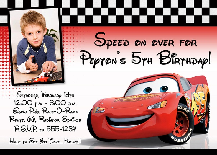 birthday invitation card car theme ; Extraordinary-Cars-Birthday-Invitations-For-Additional-Birthday-Invitation-Templates
