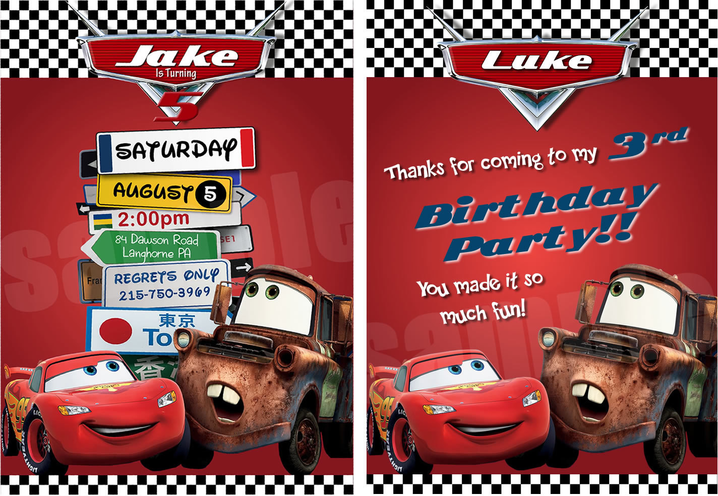 birthday invitation card car theme ; cars-birthday-party-invitation-And-the-model-attraktiv-colors-Birthday-Invitations-minimalis-ideas-11