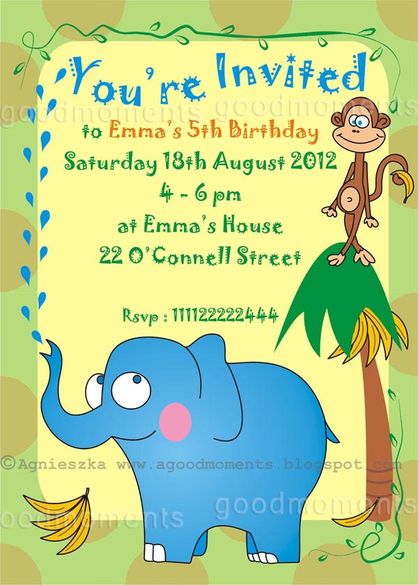 birthday invitation card design for kids ; Childrens-Birthday-Party-Invitations-is-one-of-the-best-idea-to-make-your-own-Birthday-invitation-design-2