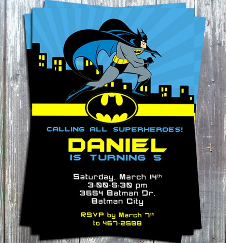 birthday invitation card themes ; _superhero_batman_birthday_theme_party_invitation_card_printable_diy_37d8bd2f