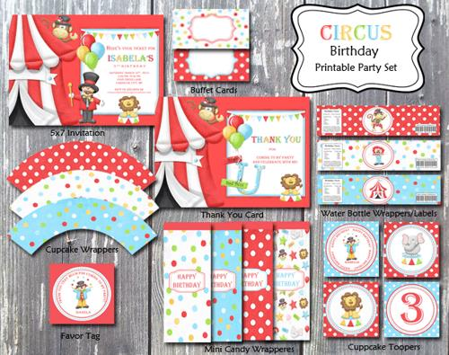 birthday invitation card themes ; carnival-theme-party-invitations-carnival-circus-birthday-theme-party-invitation-card-printable-diy
