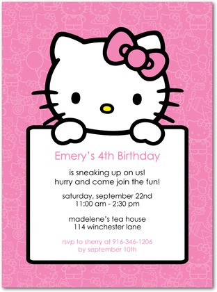birthday invitation hello kitty theme ; 1188f3e21cddfe00b2b3b4b391cbcf32