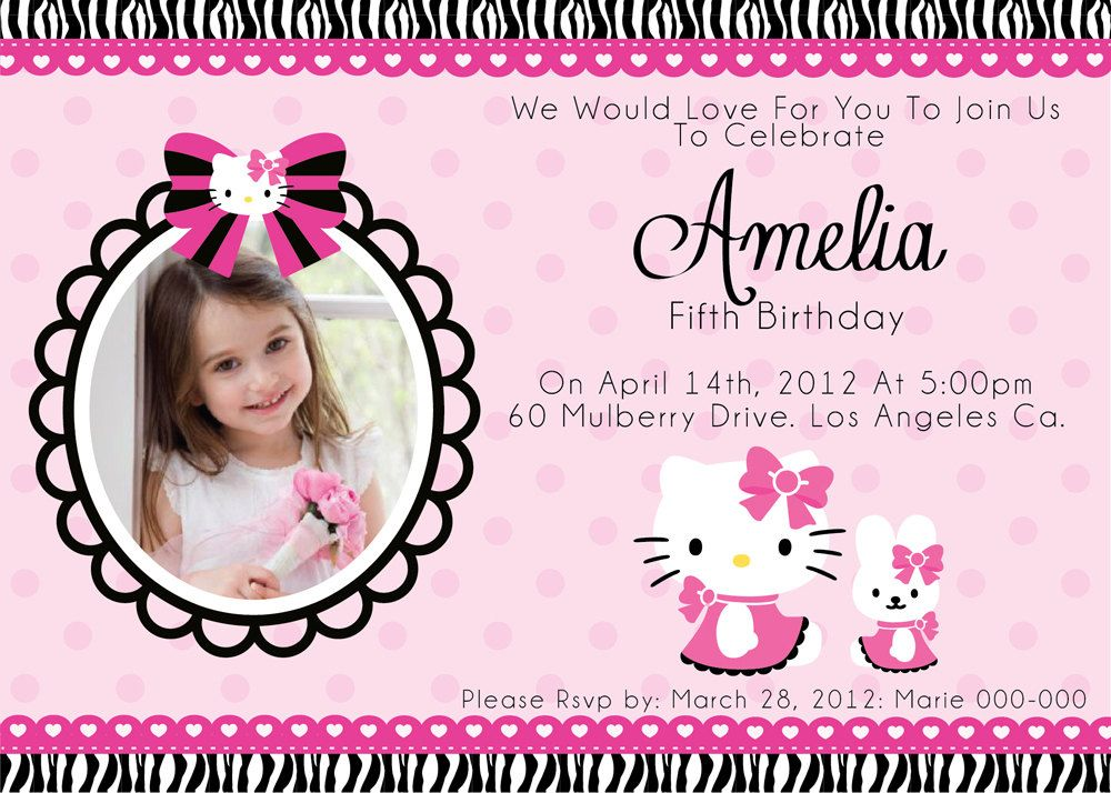 birthday invitation hello kitty theme ; 65b4dac3abd8143b31fd77a8ade080af