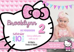 birthday invitation hello kitty theme ; af598479600b048471d74cceb81f440d--kitty-theme-birthday-party-invitations