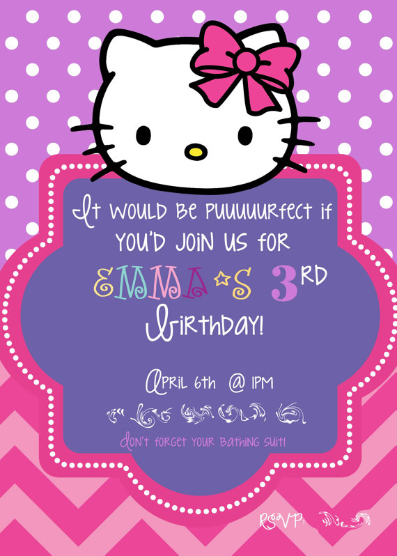 birthday invitation hello kitty theme ; b4756c5f0b7ef7f166651fc28bb98257