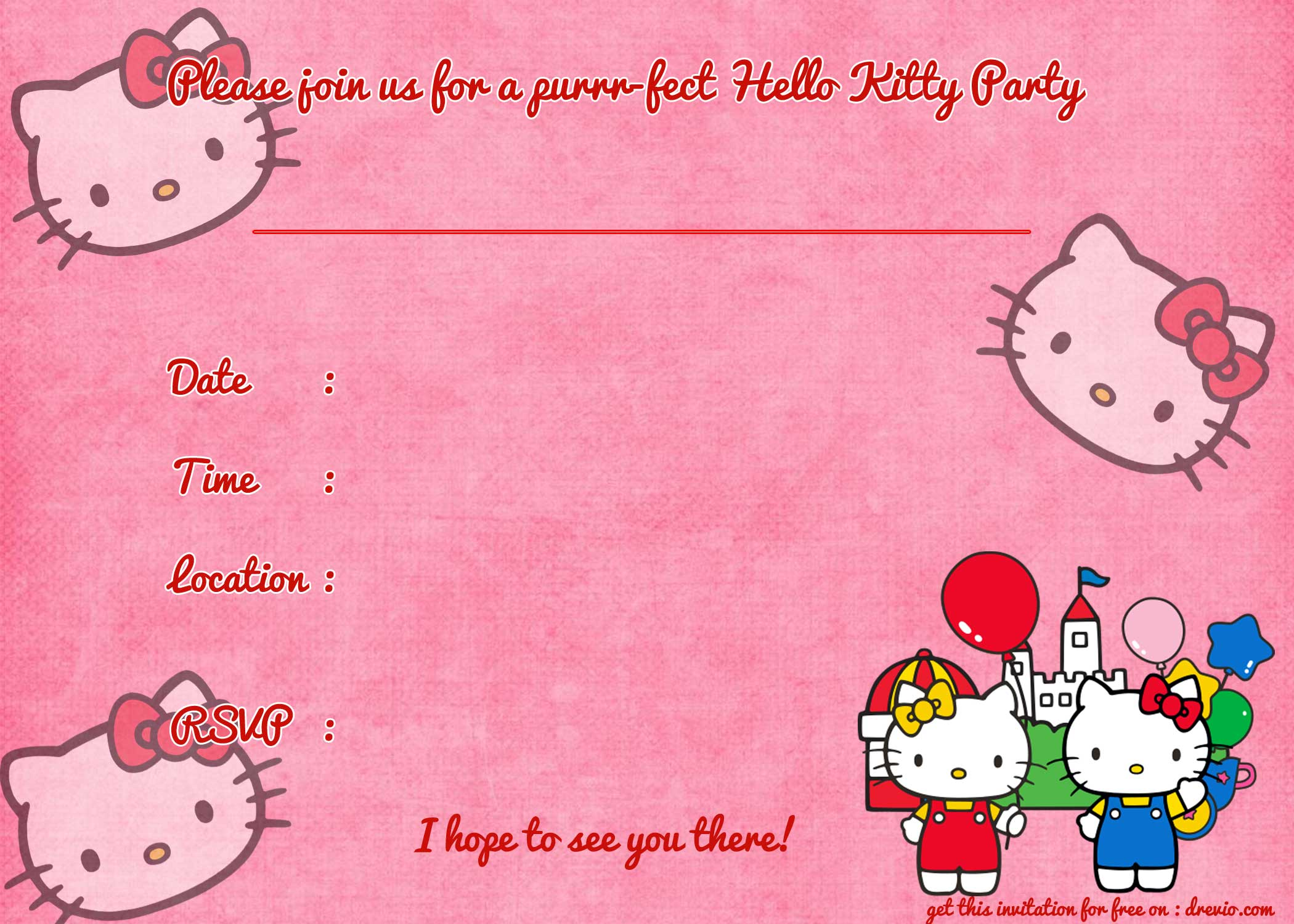birthday invitation hello kitty theme ; f81d5cf2df767fac5195589bcd9dc3f8