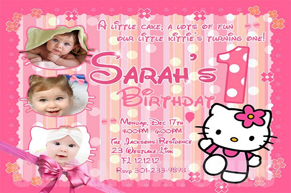 birthday invitation hello kitty theme ; hello-kitty-birthday-invitation
