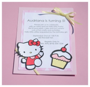 birthday invitation hello kitty theme ; hello-kitty-invitations-cricut