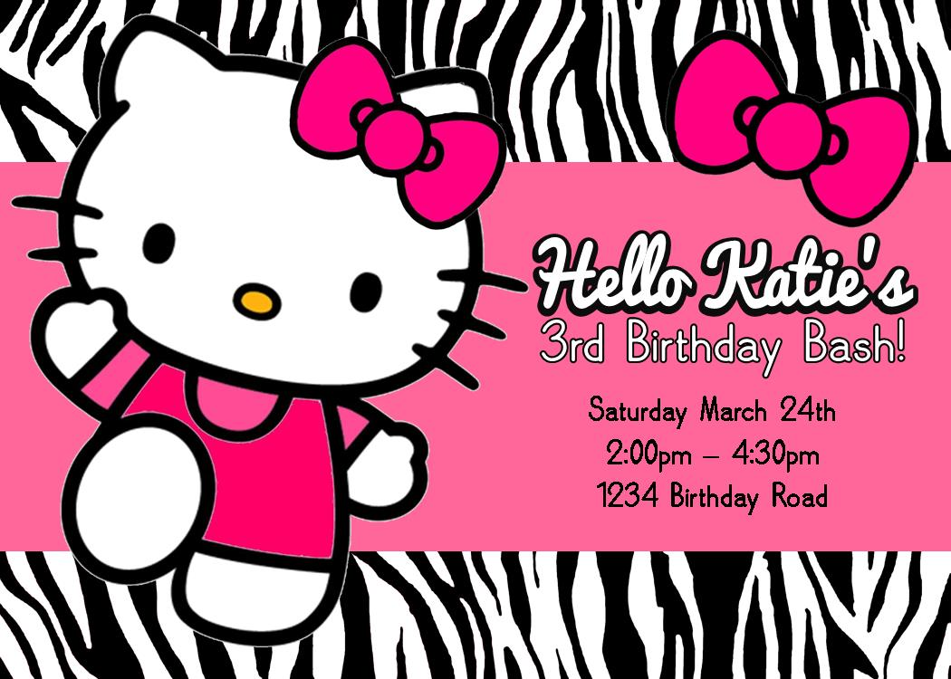 birthday invitation hello kitty theme ; hello-kitty-party-invitation-personalized-printable