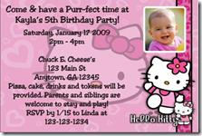 birthday invitation hello kitty theme ; image46